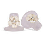Crystal Rose Heel Stoppers from Clean Heels