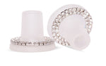 Crystal Ring Heel Stoppers from Clean Heels