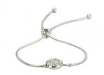 Oval Diamante Bracelet from Clean Heels