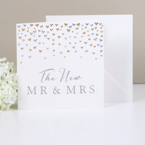 """The New Mr & Mrs"" Card from Clean Heels"