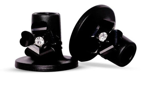 Black Rose Heel Stoppers from Clean Heels