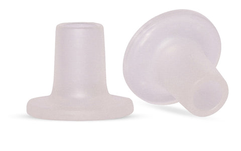 Plain Clear Heel Stoppers from Clean Heels
