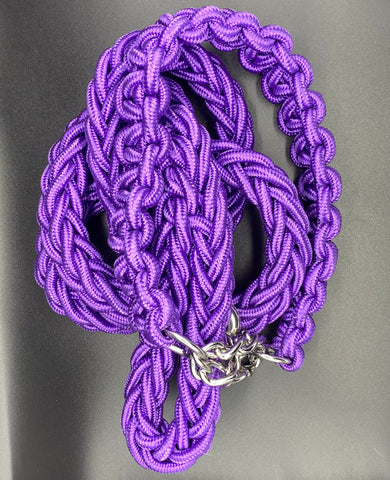 Bully Worldwide Purple Passion Collar & Leash set