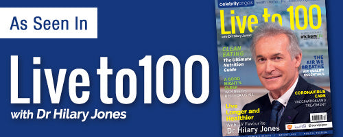 As Featured in Live to 100 with Dr Hilary Jones