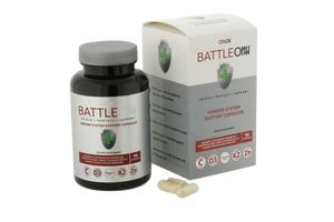 Battle ONN Immune System Capsules, Vitamin D3, Vitamin K2, Ashwaganda, Lower Cortisol, Reduce Stress and Anxiety, COVID, SARS, Immunity booster