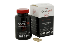 Game ONN Nootropic Cognitive Function Capsules for increased focus, concentration and energy boost