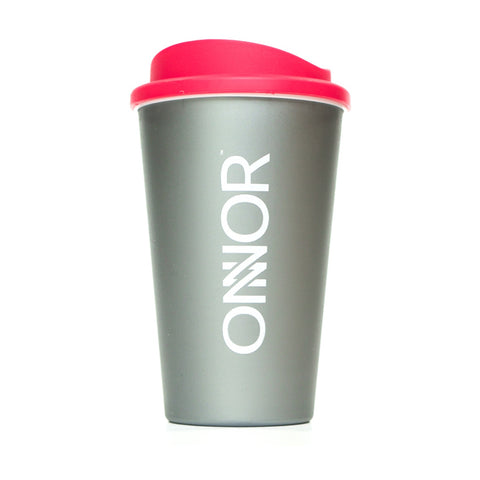 Silver 350ml Reusable Coffee Cup