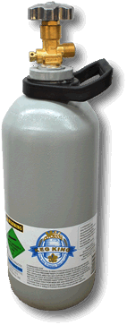 2.6Kg Steel CO2 Bottle Full