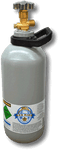 2.6Kg Steel CO2 Gas Bottle