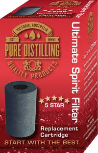 Pure Distilling Carbon Cartridge