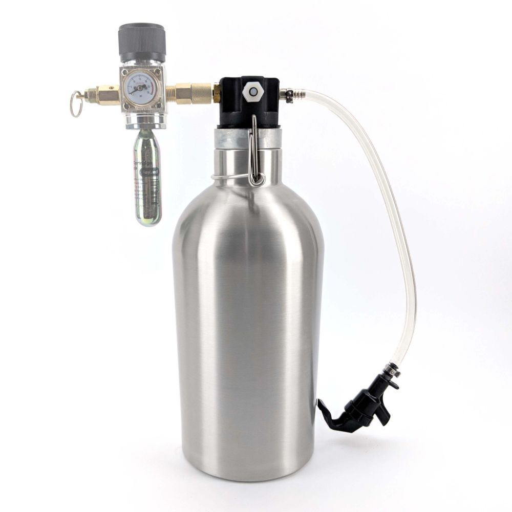 Ultimate 2L Growler Drafto Kit
