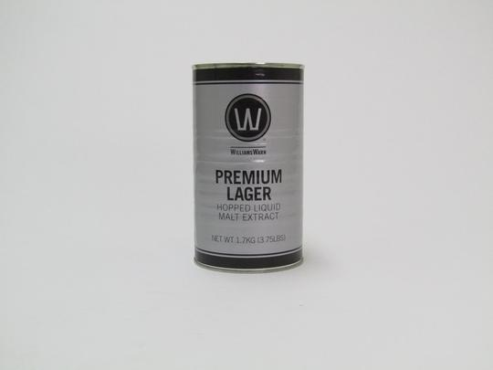 Williams Warn Premium Lager