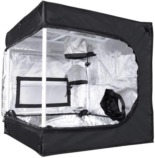 ReaseJoy Portable Hydroponics Grow Tent Room Bud Dark Green Plant Mylar Box Indoor Gardening 60x60x60cm