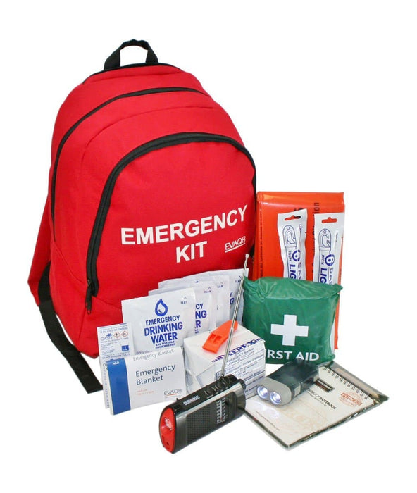 EVAQ8 Emergency Go Bag 72 Hour Survival Kit Complete