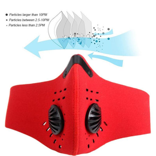 PM2.5 Neoprene Dust Mask