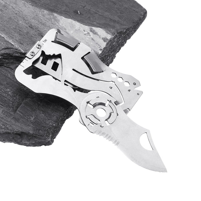 LAOTIE 125mm 5CR13MOV Stainless Steel Folding Knife Multifunctional Outdoor Survival Card Knife