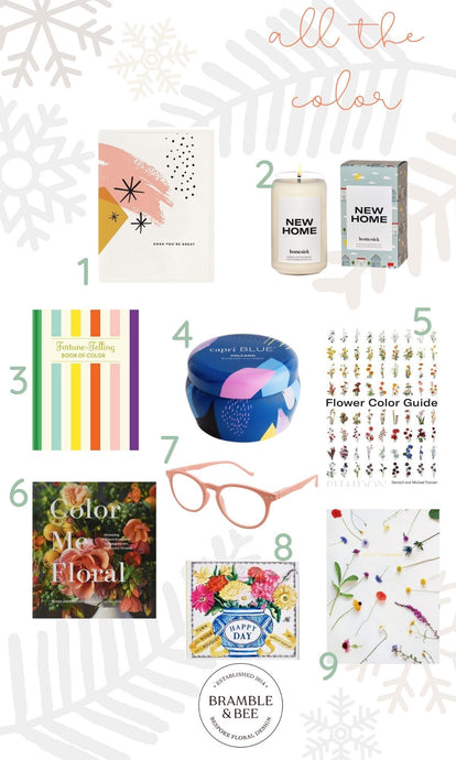 Colorful Holiday Gifts from Bramble & Bee