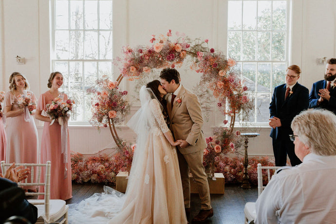 Whimsical Anthropologie Inspired Wedding
