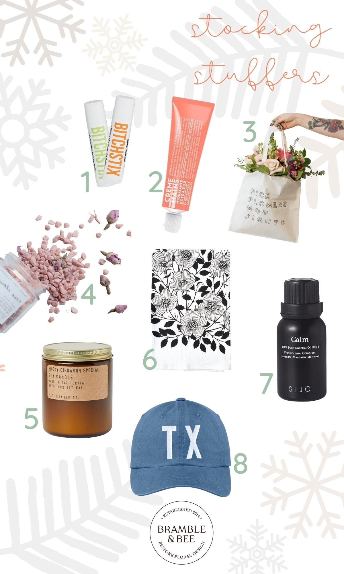 Bramble & Bee Holiday Gift Guide - Stocking Stuffers