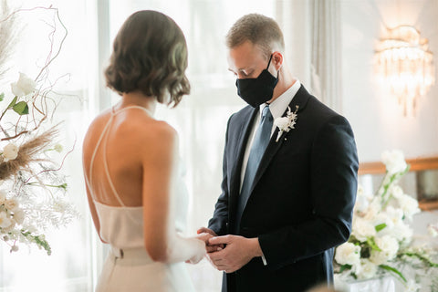Ceremony Floral Couple