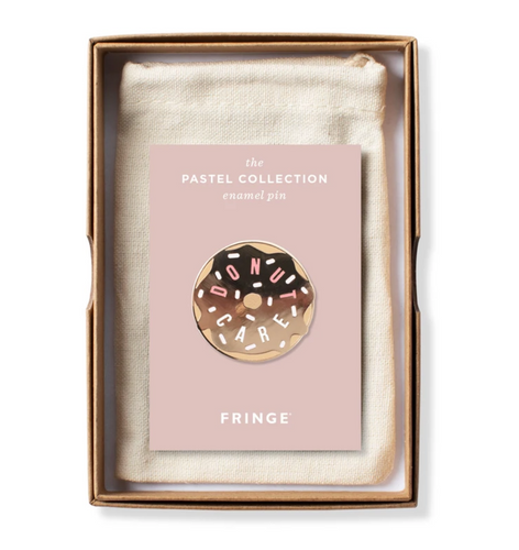 Donut Care Enamel Pin