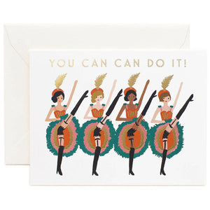 You Can Can Do It! Card
