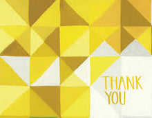 Load image into Gallery viewer, Geometric Thank You Card Set