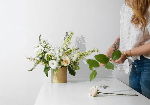 1:1 Private Class with Maggie Bailey: Wedding Flowers