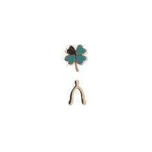 Load image into Gallery viewer, Clover Set Enamel Pins