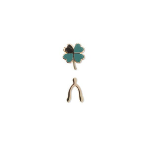 Clover Set Enamel Pins