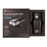 Mountain Lab x1800 Lumen Flashlight Kit