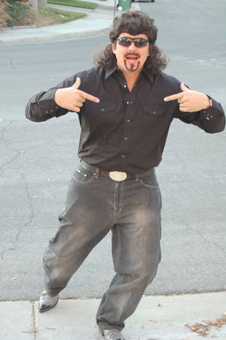 Kenny Powers Black Shirt & Boots