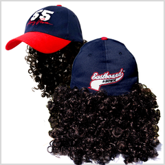 Kenny Powers Mullet Wig Cap