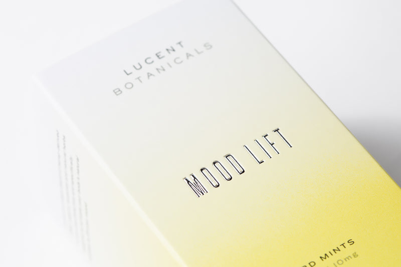 Mood Lift CBD Mints, outer box