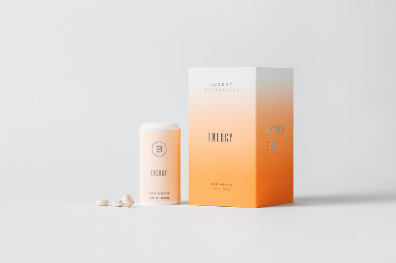 Energy CBD Mints packaging