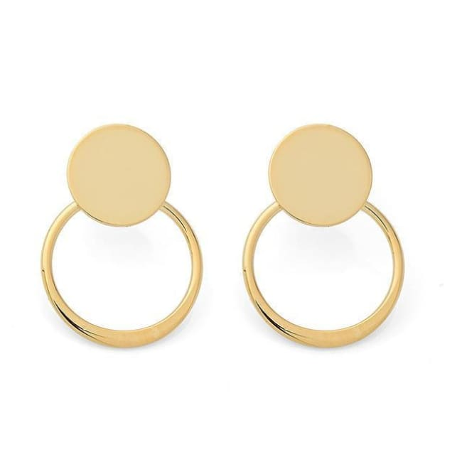 Double Drop Earrings - Gold - Earrings