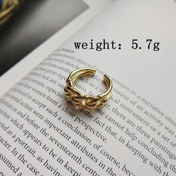 Gold Chain Ring - Ring