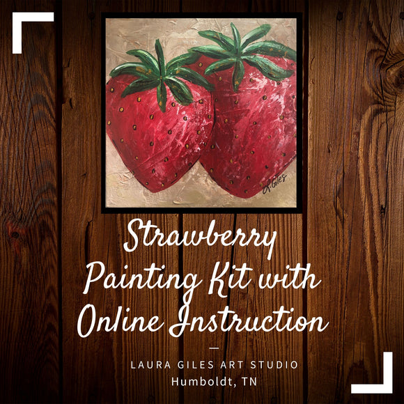 Strawberry Painting Kit for May