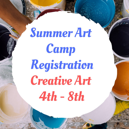 Creative Art Camp - Large Scale Art & Sculpey