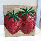 Canvas Strawberry Painting (Walk- In)