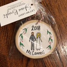Load image into Gallery viewer, Personalized Family Ornament