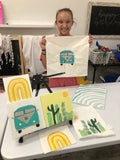 Painting & Heat Press Summer Camp