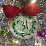 Hand painted Ornaments $8-$14