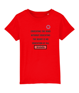 Kids t-shirt - Aristotle on education
