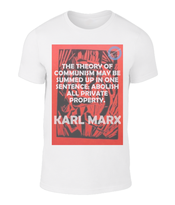 Beautiful, original design great value t-shirt - Karl Marx - Property