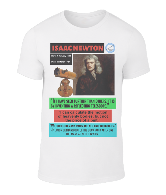 The genius of Isaac Newton in three lesser known quotes