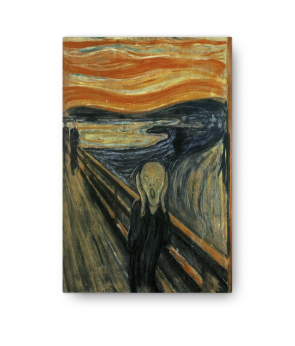 Z Art The scream Edvard Munch  1893 canvas prints
