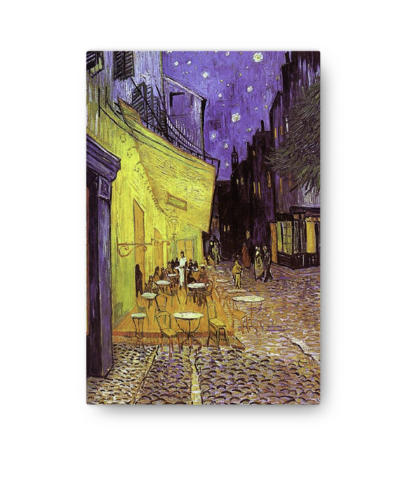 Z Art Cafe Terrace at Night canvas prints