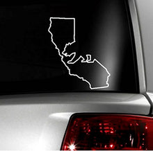 "Load image into Gallery viewer, Cali / California Bear and State Vinyl Decal Sticker - 4"" Inches"