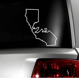 "Cali / California Bear and State Vinyl Decal Sticker - 4"" Inches"